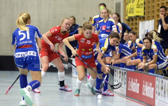 NLA Frauen, Playoff VF1